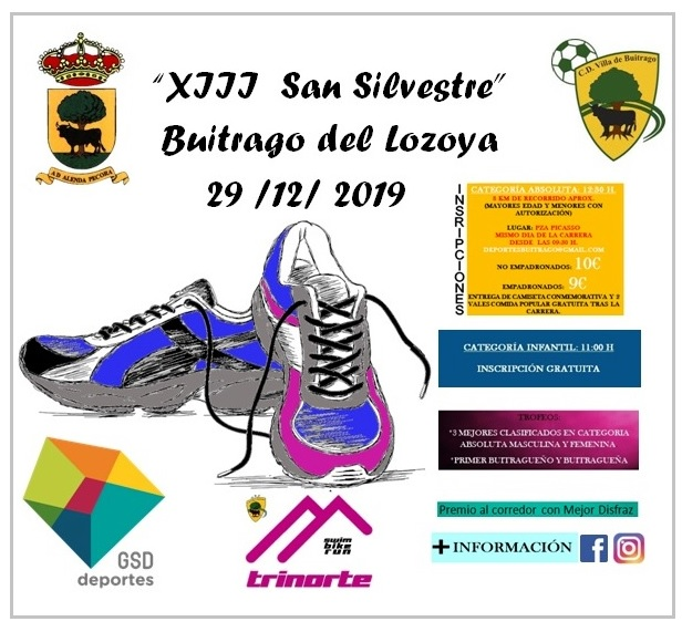 XIII San Silvestre Buitrago del Lozoya 2019