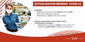Actualización de medidas COVID en la Comunidad de Madrid desde el lunes 7 de septiembre