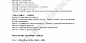 TEXTO EN FASE DE EXPOSICIÓN PÚBLICA. Reglamento de control horario y presencia de los empleados públicos del Ayuntamiento de Buitrago del Lozoya
