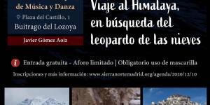 CONFERENCIA. Viaje al Himalaya: en búsqueda del leopardo de las nieves